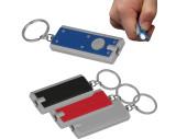 Rechteckiger Schlüsselanhänger mit LED Lämpchen